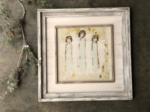 "20"" Angel Trio Wall Art © Tawnya Norton"