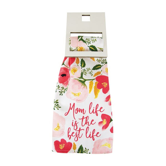 Mom Life Best Life Tea Towel