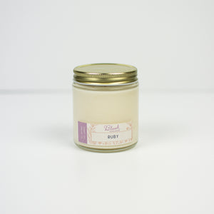 Ruby - Blush Scented Soy Candle - Infused Tea Company