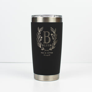Blush Luxe Hydration Tumbler - Infused Tea Company