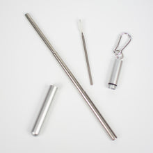 Load image into Gallery viewer, Luxe Stainless Steel Telescopic Straw - Infused Tea Company