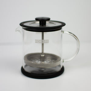 Cafe Style Glass Coffee / Tea Press 16 oz. - Infused Tea Company