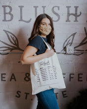 Load image into Gallery viewer, Blush Canvas Tote