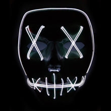 LED Light Up Face Mask (Purge)