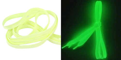 Glowing Fluorescent Shoe Laces