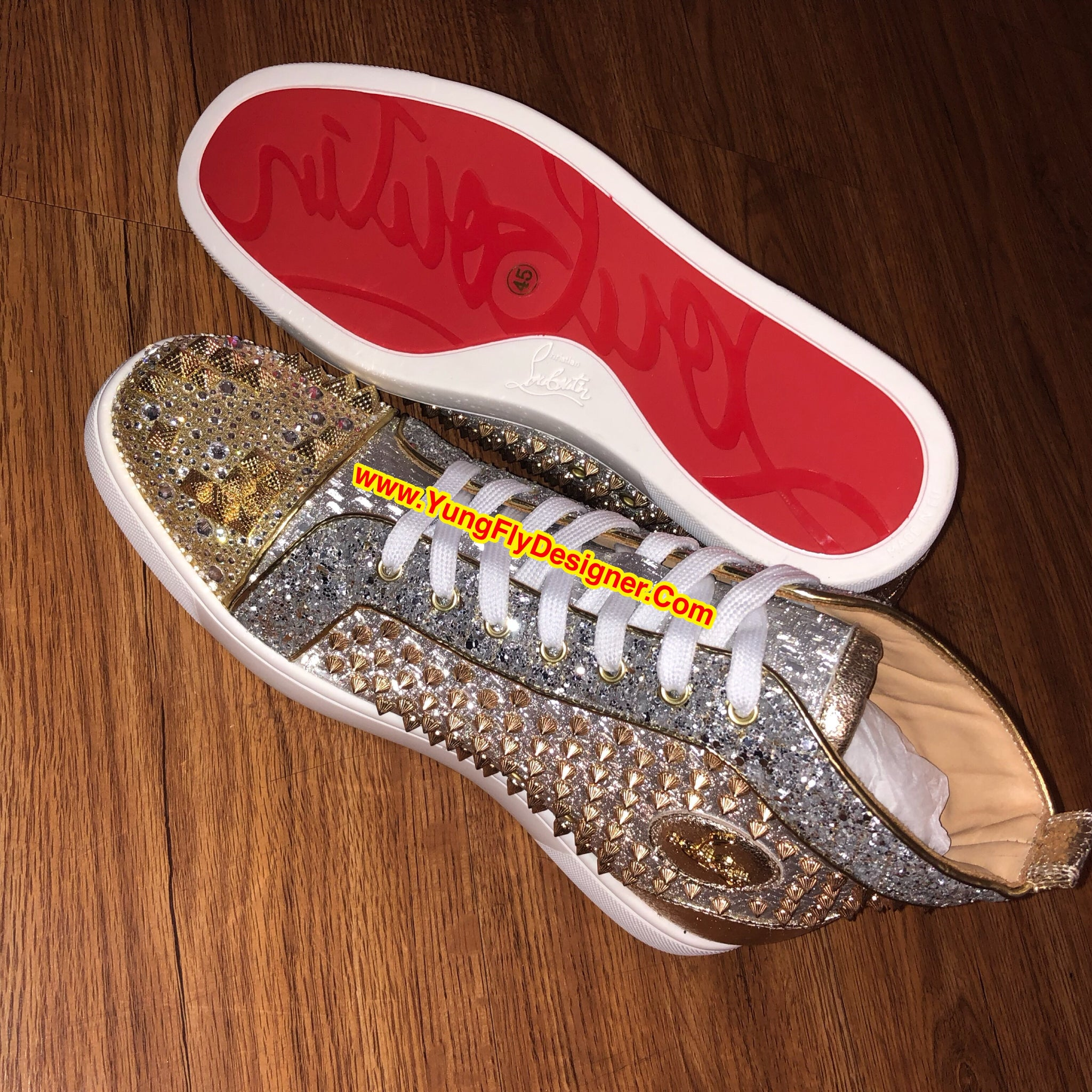 3c264e4067a Exclusive Louboutin Sneakers -  375.00 – Young Fly Designer