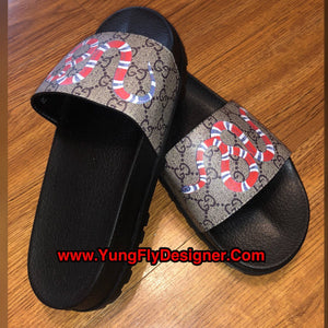 30ad9ec3a14824 Gucci Snake Slide Sandals -  135.00 – Young Fly Designer