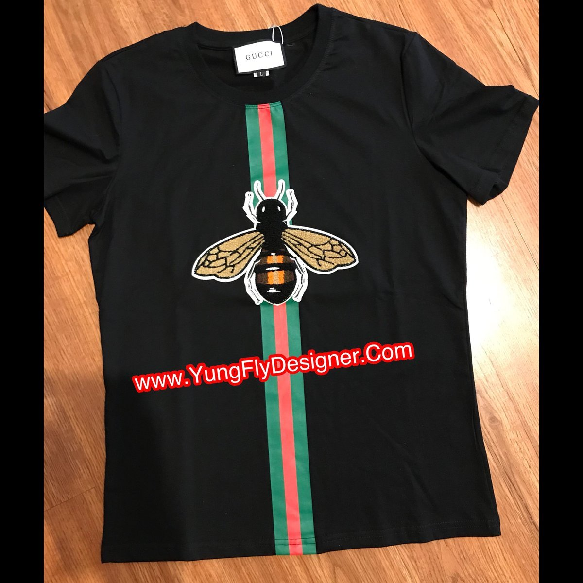 c7e2068b5c0d Gucci Bee T-Shirt - $75.00 – Young Fly Designer