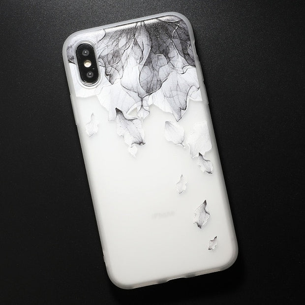 Relief TPU case For iphone