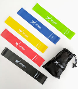 Ostrich Resistance Latex Workout Bands