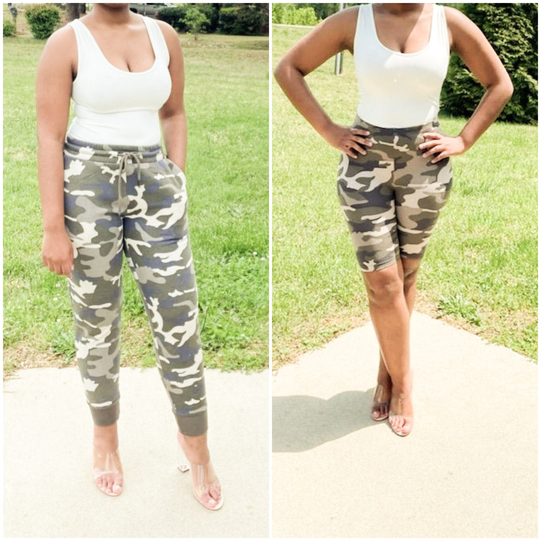 Camo Essential 3pc Set - Noir Envy Boutique