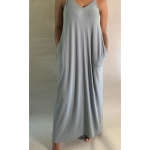 Take It Easy | Adjustable Strap Maxi (Light Green) Up to 3X - Noir Envy