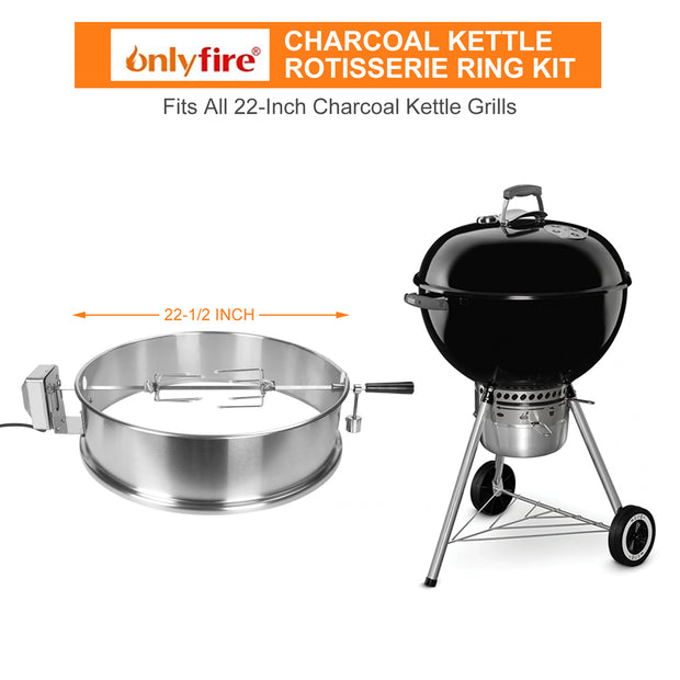 Kettle Rotisserie Ring for Weber 2290