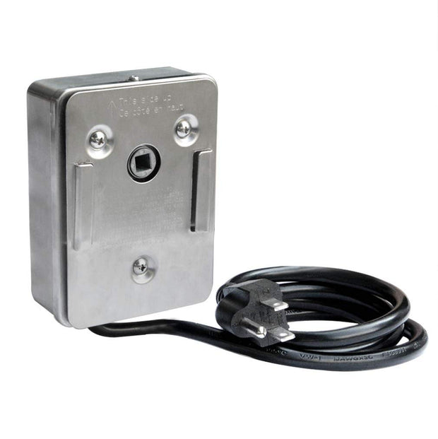 Electric Stainless Steel Replacement Rotisserie Motor 120 Volt 4 Watt