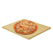 "Onlyfire Heavy Duty Ceramic Pizza Grilling Stone - 12"" x 15"" Rectangular Baking Stone for Best Crispy Crust Pizza - Perfect for BBQ Oven and Grill - Thermal Shock Resistant"