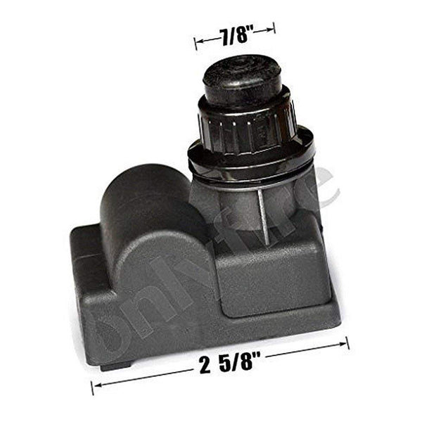 Electric Push Button Igniter for Select Gas Grill Models by Char-broil, Brinkmann, and Others, Black