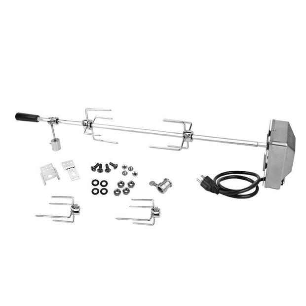 Universal Grill Rotisserie Kit - 37'' X 1/2'' Hexagon Spit Rod(Do No Fit Weber Gas Grill)