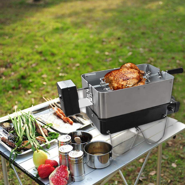 Rotisserie Kit For Weber Go Anywhere Barbecue Grill