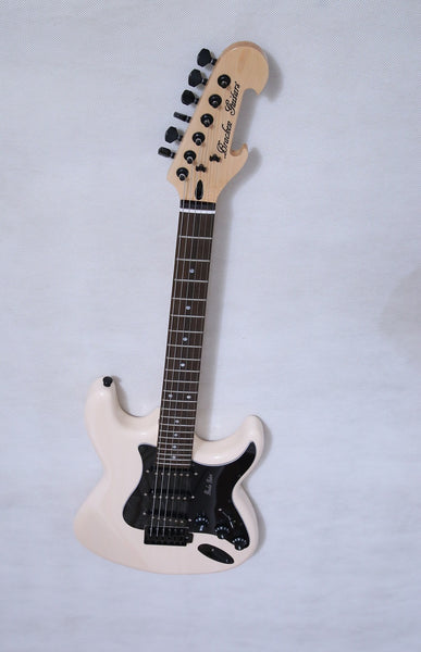 Solid body ST, in Antique White , NEW FOR 2020 and Ready for You - Bracken Guitars