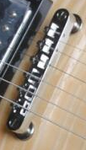 Bracken Guitars Jazz Plated Bridges - Bracken Guitars