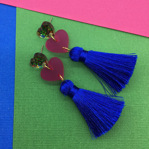 Statement Tassels - Double Love Party