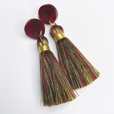 Simple Tassels - Christmas