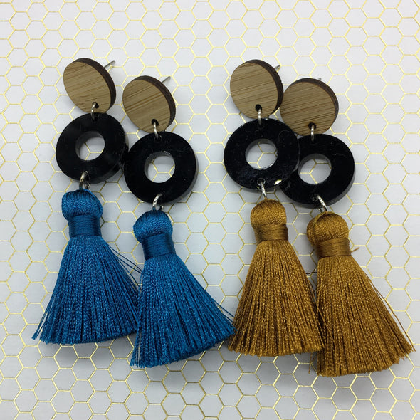Statement Tassels - Halo Bamboo