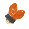 Teething Ring - Burnt Orange Burst