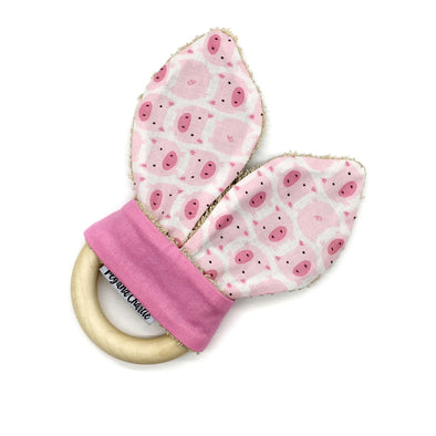 Teething Ring - Piggy Oink