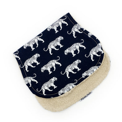 Burp Cloth - White Tiger