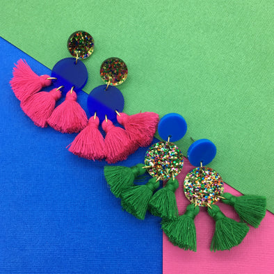 Statement Tassels - Cosmos Party