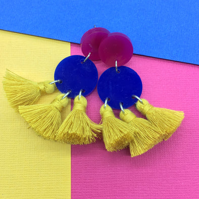 Statement Tassels - Cosmos Retro