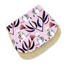 Burp Cloth - Kangaroo Pink