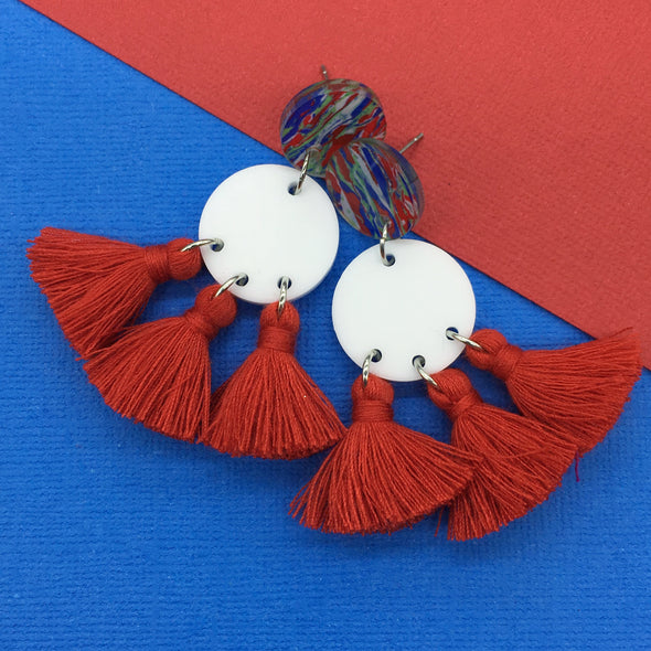 Statement Tassels - Cosmos Nautical