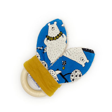 Teething Ring - Mustard Bear