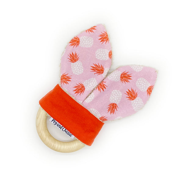Teething Ring - Tossed Pineapples