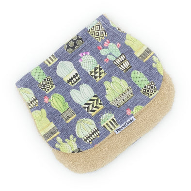 Burp Cloth - Cactus Pots