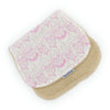 Burp Cloth - Pugs Pink