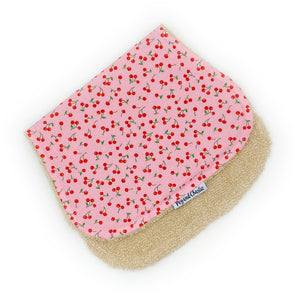 Burp Cloth - Cherries