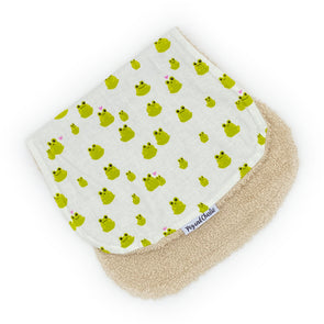 Burp Cloth - Frog Love
