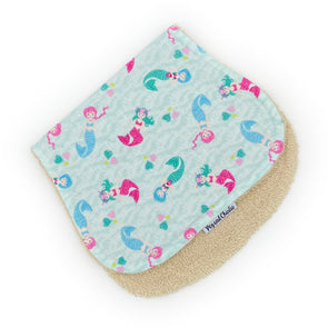 Burp Cloth - Mermaids