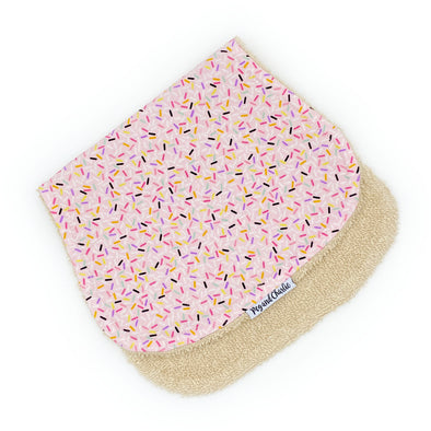Burp Cloth - Confetti Pink
