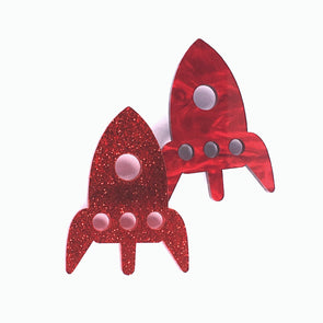 Brooch - Rocket