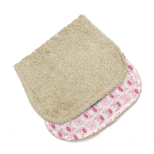 Burp Cloth - Piggy Oink