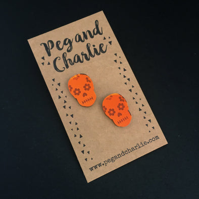 Acrylic Studs - Day of the Dead