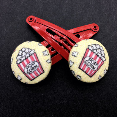 Twin Pack Snap Clips - Popcorn