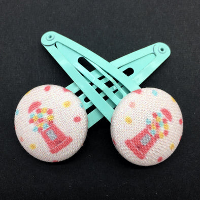 Twin Pack Snap Clips - Gumballs