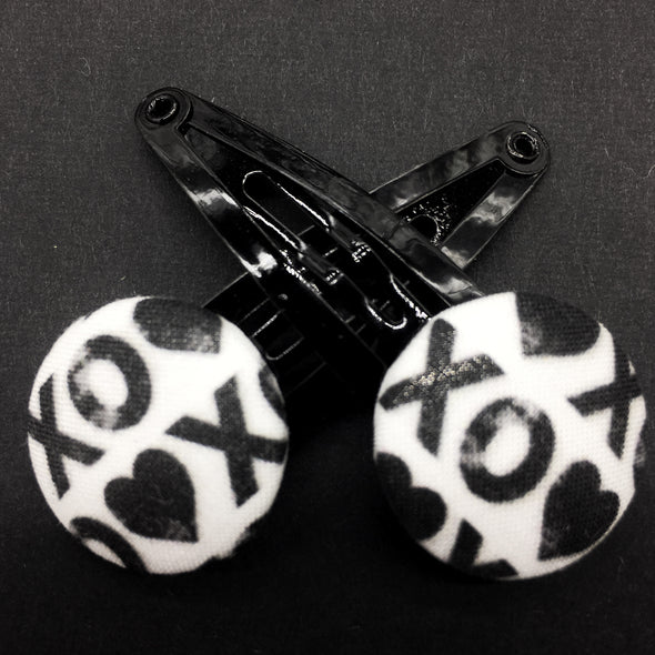 Twin Pack Snap Clips - XOXO