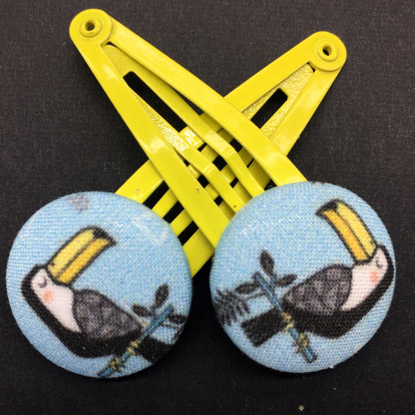 Twin Pack Snap Clips - Toucan