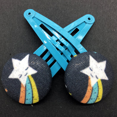 Twin Pack Snap Clips - Shooting Star
